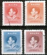 Nauru 1937 King George VI Coronation Fine Used