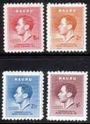Nauru 1937 King George VI Coronation Set Fine Mint