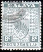 Negri Sembilan 1935 Coat of Arms SG 29 Fine Used