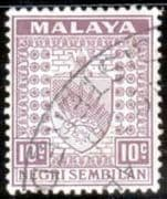 Negri Sembilan 1935 Coat of Arms SG 30 Fine Used