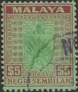 Negri Sembilan 1935 Coat of Arms SG 39 Fine Used
