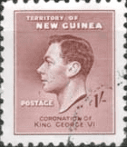 Postage Stamps New Guinea 1937 King George VI Coronation