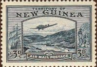 New Guinea 1939 Airmail Postage SG 216 Fine Used