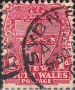 New South Wales 1902 SG 314 Shield Fine Used