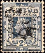 New South Wales 1902 SG 315 Queen Victoria Fine Used