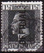 New Zealand 1915 King George V Official SG O90 Fine Used