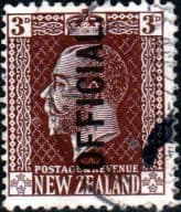 New Zealand 1915 King George V Official SG O99 Fine Used