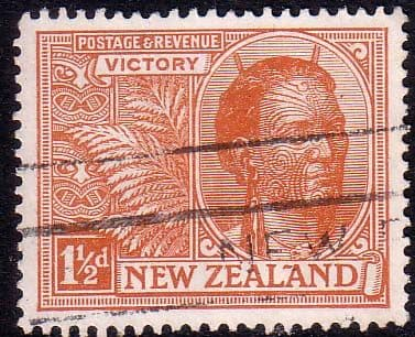 New Zealand 1920 Peace Victory SG 455 Fine Used