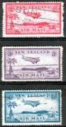 New Zealand 1935 Bell Block Air Mail Set Fine Used