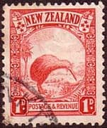 New Zealand 1935 SG 557 Brown Kiwi Fine Used