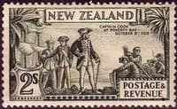 New Zealand 1936 SG 589 Captain Cook at Poverty Bay Fine Mint