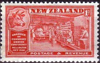 New Zealand 1936 Wellington Chamber of Commrce Conference SG 594 Fine Mint