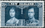 New Zealand 1937 Coronation SG 600 Fine Mint