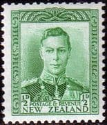New Zealand 1938 King George VI SG 603 Fine Mint