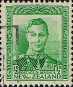 New Zealand 1938 King George VI SG 603 Fine Used