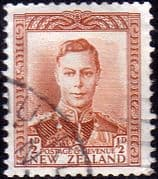 New Zealand 1938 King George VI SG 604 Fine Used
