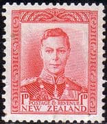 New Zealand 1938 King George VI SG 605 Fine Mint