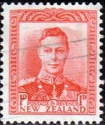 New Zealand 1938 King George VI SG 605 Fine Used