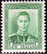 New Zealand 1938 King George VI SG 606 Fine Mint