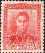 New Zealand 1938 King George VI SG 608 Fine Used