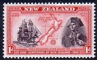 New Zealand 1940 Centenary SG 614 Fine Mint
