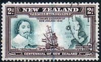 New Zealand 1940 Centenary SG 616 Fine Used