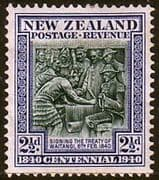 New Zealand 1940 Centenary SG 617 Fine Mint