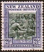 New Zealand 1940 Centenary SG 617 Fine Used
