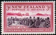 New Zealand 1940 Centenary SG 618 Fine Mint