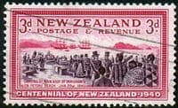 New Zealand 1940 Centenary SG 618 Fine Used