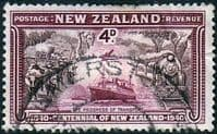 New Zealand 1940 Centenary SG 619 Fine Used