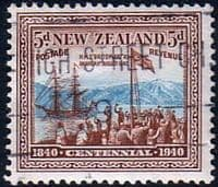 New Zealand 1940 Centenary SG 620 Fine Used