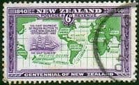 New Zealand 1940 Centenary SG 621 Fine Used