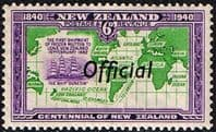 New Zealand 1940 Centennial Official SG O148 Fine Mint