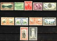 New Zealand 1946 King George VI Victory Set Fine Mint