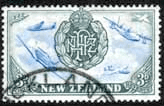 New Zealand 1946 King George VI Victory SG 671 Fine Used