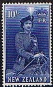New Zealand 1953 Queen Elizabeth SG 736 Fine Mint