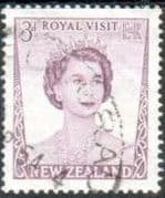 New Zealand 1953 Royal Visit SG 721 Fine Used