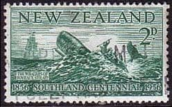 New Zealand 1956 Southland Cetennial SG 752 Fine Used