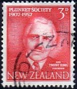 New Zealand 1957 50th Anniv of Plunket Society Fine Used