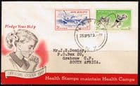 New Zealand 1957 Health First Day of Issue Cover