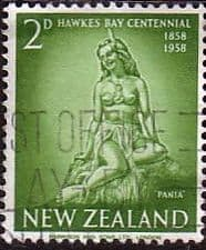 New Zealand 1958 Hawks Bay SG 768 Fine Used