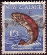 New Zealand 1960 SG 792 Trout Fine Used