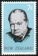 New Zealand 1966 Churchill Fine Mint