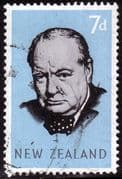 New Zealand 1966 Churchill Fine Used