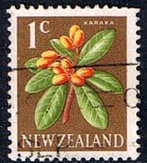 New Zealand 1967 SG 846 Flower Fine Used