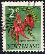 New Zealand 1967 SG 847 Flower Fine Used