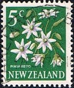 New Zealand 1967 SG 851 Flower Fine Used