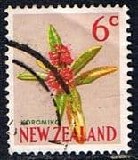New Zealand 1967 SG 852 Flower Fine Used