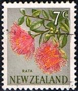 New Zealand 1967 SG 853 Flower Fine Used